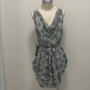 Bebe Snake Print Dress